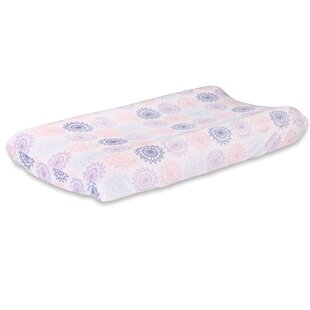 Read Reviews Wildflower Changing Pad Cover ByThe Peanut Shell