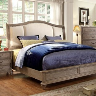 Augustin Upholstered Panel Bed by Canora Grey