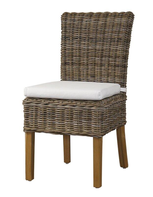 Bayou Breeze Bazile Side Chair in Kubu Gray (Set of 2)