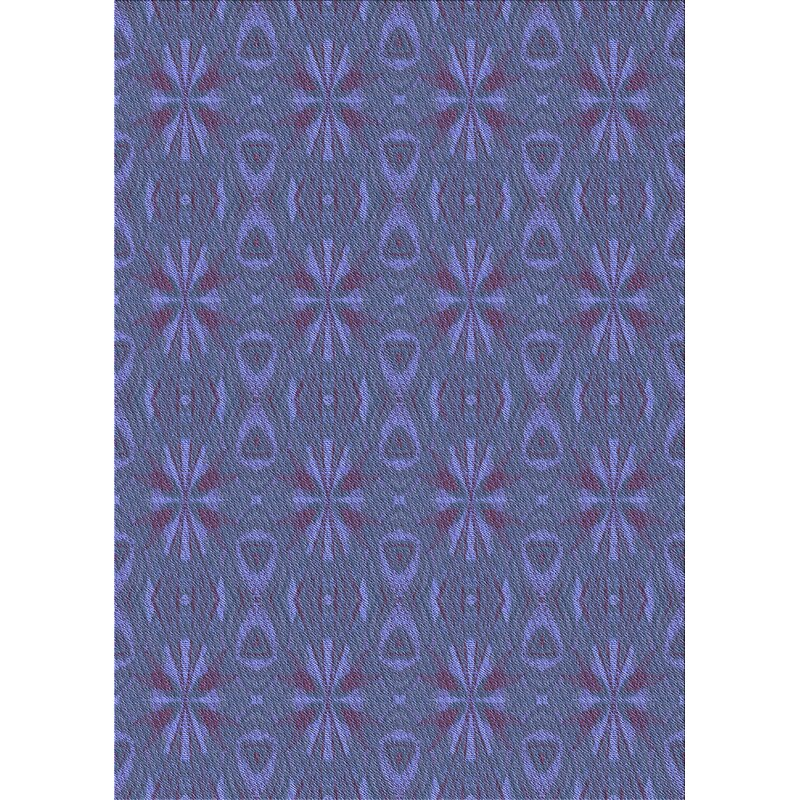 East Urban Home Caines Geometric Wool Blue Area Rug Wayfair