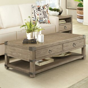 Ferris Caster Coffee Table Gracie Oaks