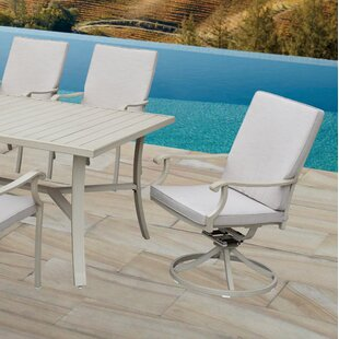 Caressa Swivel Patio Dining Chair with Cushion