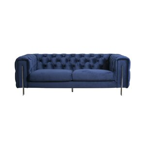 Moonsu Tufted Back Sofa by Everly Quinn