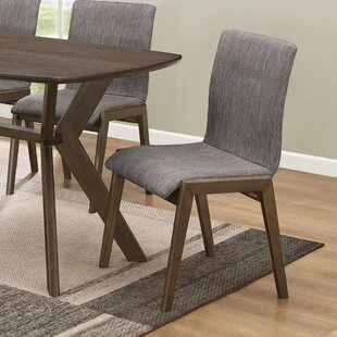 Pinon Mid-Century Sylvan Upholstered Dining Chair (Set of 2)