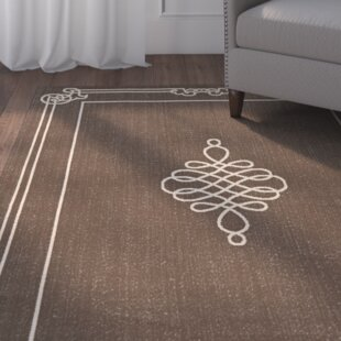 Alderman Chocolate/Cream Indoor/Outdoor Area Rug
