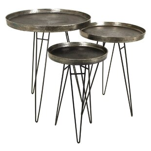 Mudoch 3 Piece Nest Of Tables (Set Of 3) By Bloomsbury Market