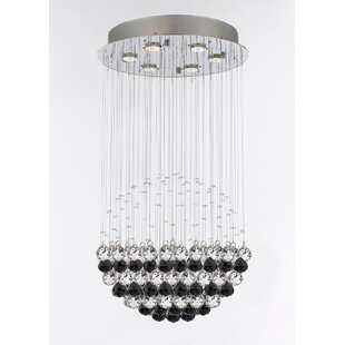 Kilby 6-Light Chandelier by Everly Quinn