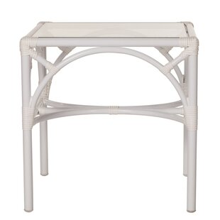 Chippendale Aluminum Side Table
