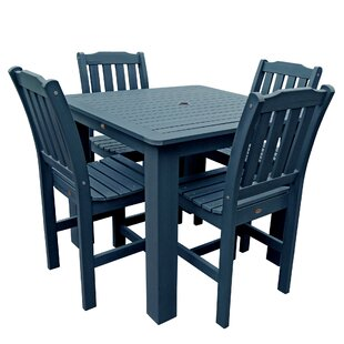 Buyers Choice Phat Tommy Lehigh 5 Piece Dining Set