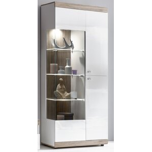 glass cabinets for kitchen display cabinets wayfair co uk 3768