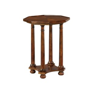 Stokes Pillar End Table by Astoria Grand