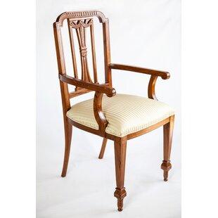 The Silver Teak Vintage Sheraton Style Arm Chair