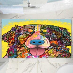 Dean Russo's Dog Memory Foam Bath Rug