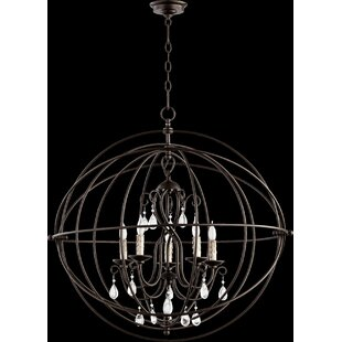 Quorum Cilia 5-Light Pendant