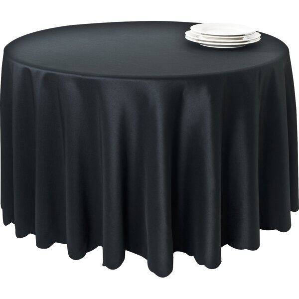 Red Barrel Studio Lerna Satin Scalloped Edge Table Cloth Liner U0026 Reviews    Wayfair