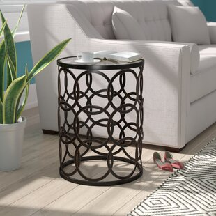 Mchone End Table Mercury Row