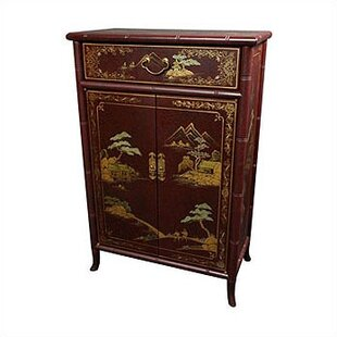 Oriental Furniture Japanese Shoe Storage Cabinet