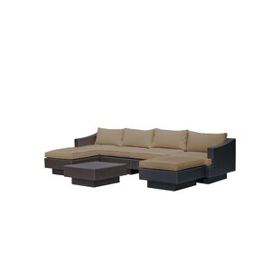 Galina 7 Piece Sectional Set with Cushions