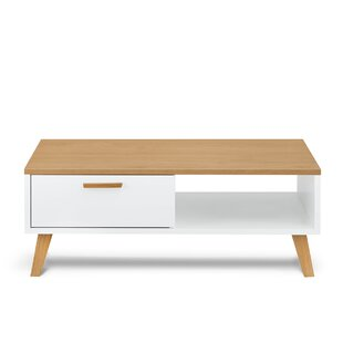 Frisk Coffee Table With Storage By Konsimo