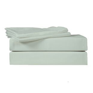 350 Thread Count Solid 100% Cotton Sateen Sheet Set