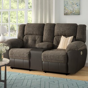 Red Barrel Studio Simmons George Double Motion Reclining Loveseat