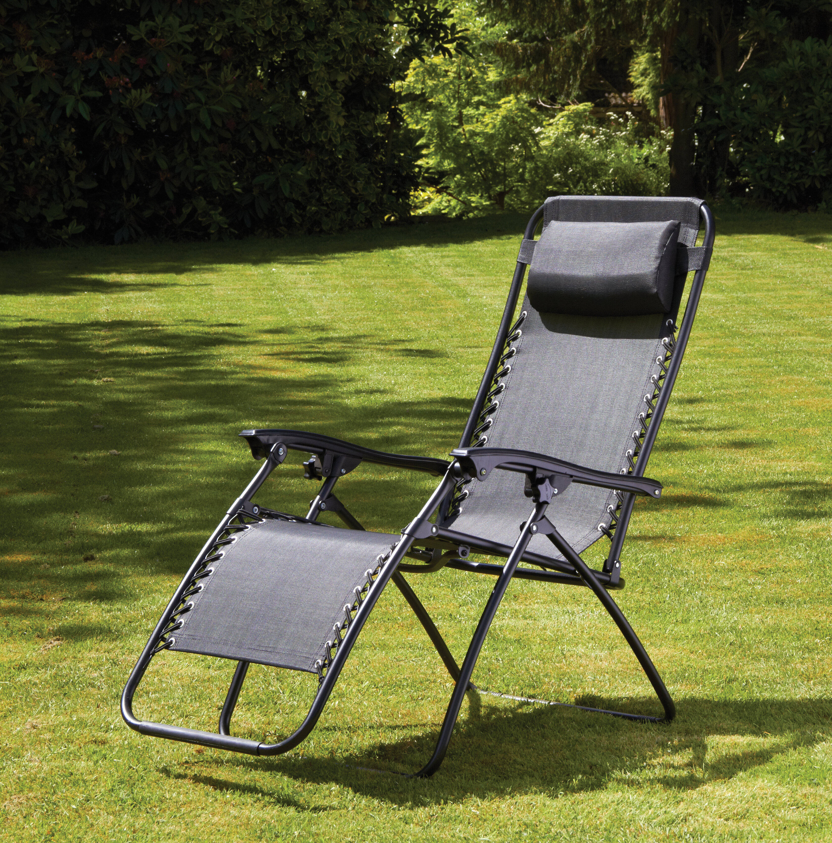 Elna Reclining/Folding Zero Gravity Chair Set