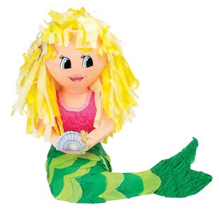 Mermaid Pinata Paper Disposable Party Favors