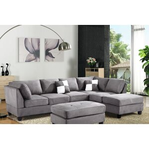Childress Sectional  sc 1 st  Wayfair : sectional gray sofa - Sectionals, Sofas & Couches