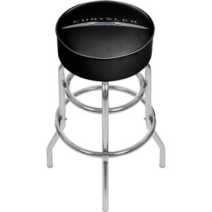 Chrysler 31 Swivel Bar Stool Trademark Global