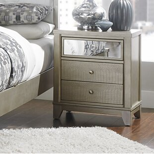 Compare & Buy 3 Drawer Nightstand by Homelegance