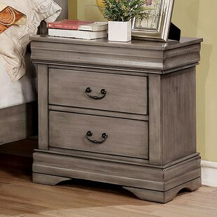 Louann 2 Drawer Nightstand by Darby Home Co