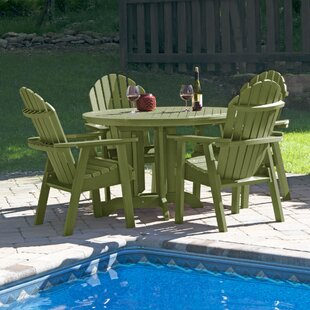 Longshore Tides Magaw 5 Piece Dining Set