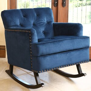 Kody Rocking Arm Chair by Willa Arlo Interiors