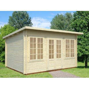 Altavista 14 X 10.5 Ft. Tongue & Groove Summer House By Sol 72 Outdoor