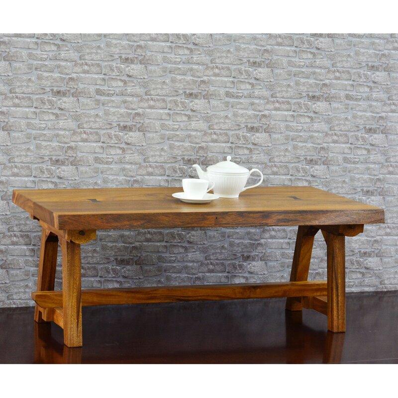 Awesome Ori Live Edge Foldable Coffee Table