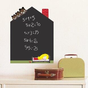 Goldilocks' House Water Resistant Decorative Chalkboard Wall Decal ByRetrospect Group