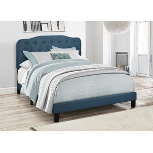 Charlton Home Keagan Upholstered Panel Bed