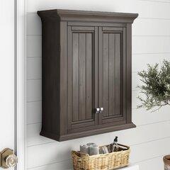 Farmhouse Rustic Gray Bathroom Cabinets Shelves Birch Lane