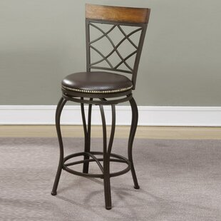 Whitlow Swivel Bar Stool (Set of 2) by Millwood Pines