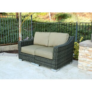 Denika 2 Piece Loveseat with Cushion By Latitude Run