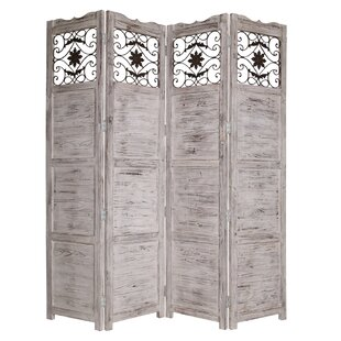 Screen Gems Nantucket 4 Panel Room Divider