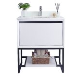 Riey 30 Single Dual Mounted Bathroom Vanity Set by Brayden Studio