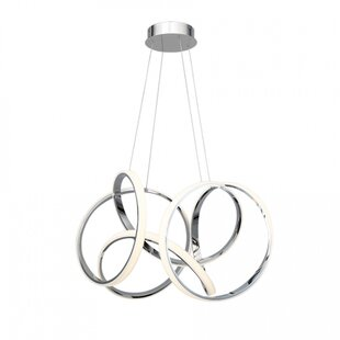 Orren Ellis Cissna 1-Light LED Novelty Pendant
