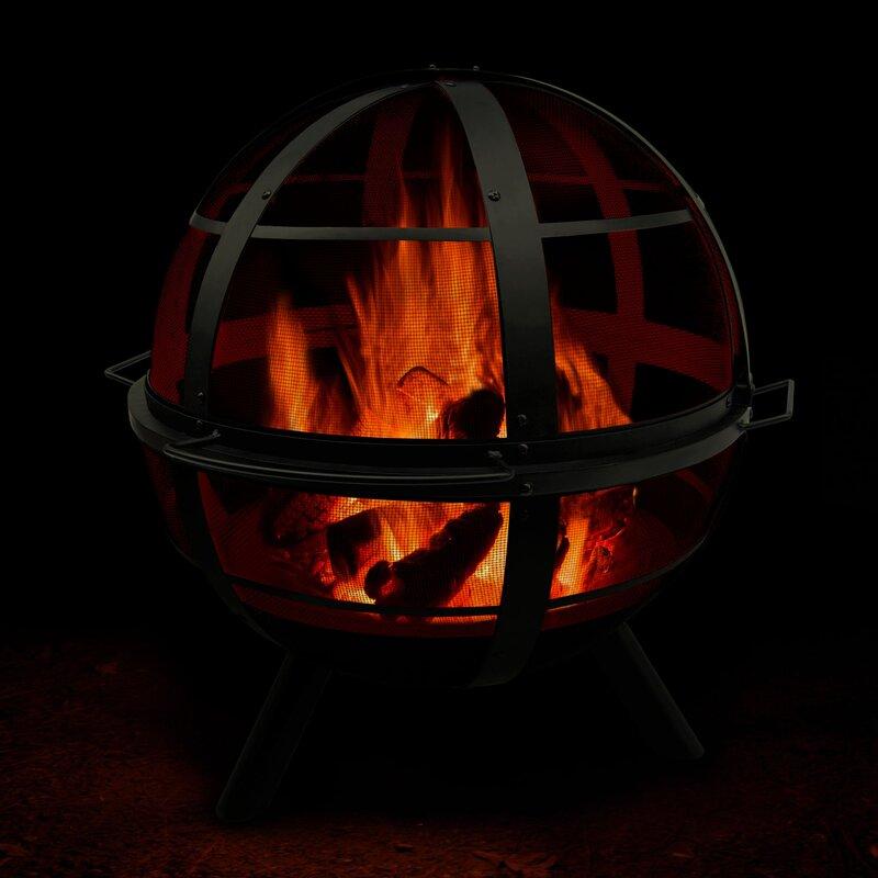 Landmann Ball Of Fire Steel Wood Burning Fire Pit Reviews Wayfair Ca