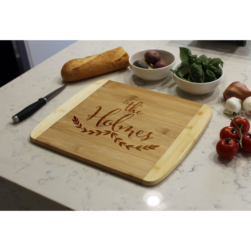 Etchey Bamboo Cutting Board Wayfair