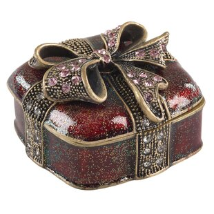 Christmas Present Gift Jewelry Box ByThe Holiday Aisle