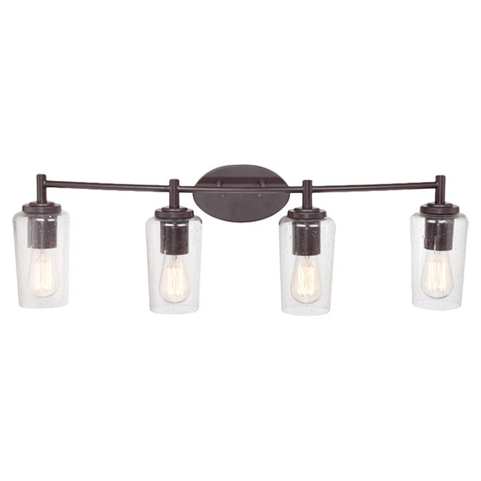 Bathroom Vanity Lights Austin Tx trent austin design loveland 4-light vanity light & reviews | wayfair