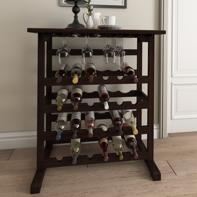 Eliza 24 Bottles Floor Wine Rack