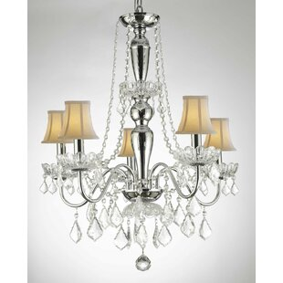 House of Hampton Holton 5-Light Shaded Chandelier