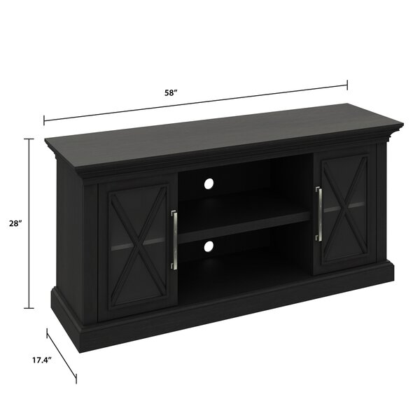 Loon Peak Solid Wood Tv Stand For Tvs Up To 65 Reviews Wayfair Ca